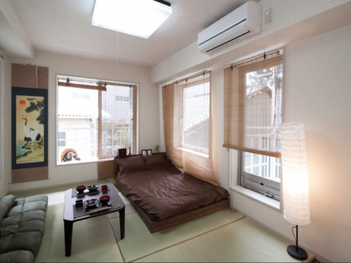 NW 1 Bedroom Japanese Style Apartment near Nijo Castle