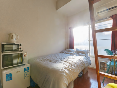 1Room 2Semi Double beds Near Shibuya.sta No.3