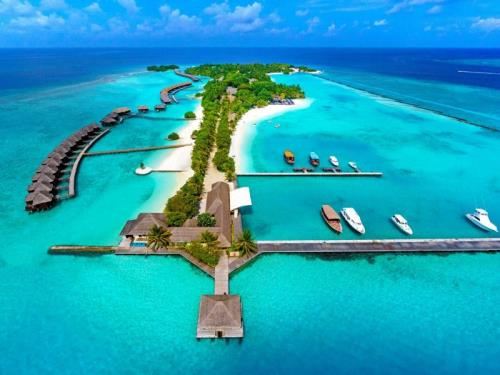 Linna Sheraton Maldives Full Moon Resort & Spa kohta (Sheraton Maldives Full Moon Resort & Spa)