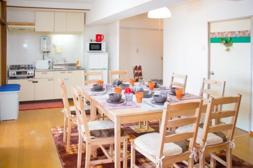 CB Japanese 2 Bedroom Apartment for Family in Hiroshima