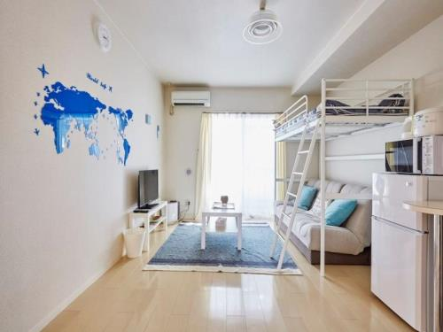 LED单卧室公寓-近东京1B (NOMAD 1bedroom apartment close to Tokyo 1B)